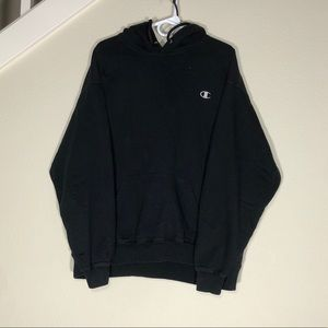 Black Champion Sweatshirt Men's 2XL